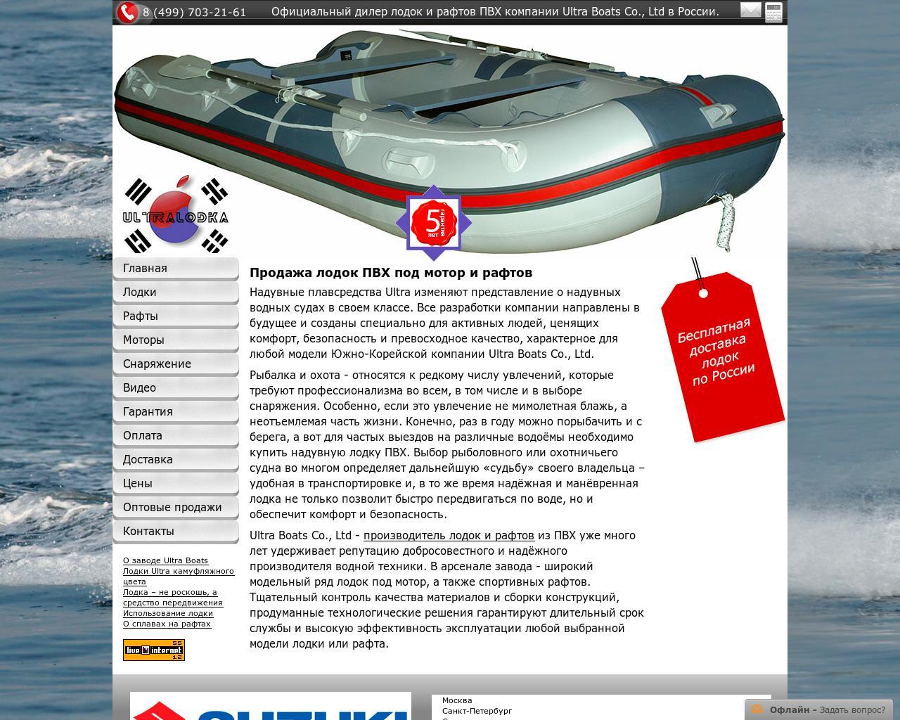 рейтинг моделей лодок из пвх